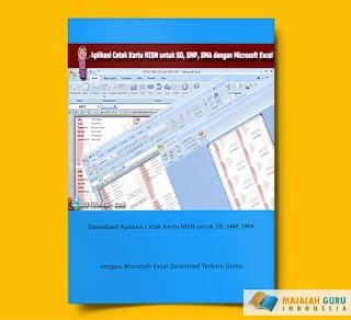 Download Aplikasi Cetak Kartu NISN untuk SD, SMP, SMA dengan Microsoft Excel Download Terbaru Gratis
