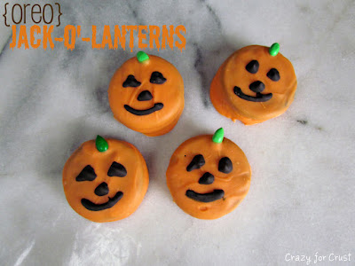 Halloween recipe: Oreo Jack-o'-Lanterns