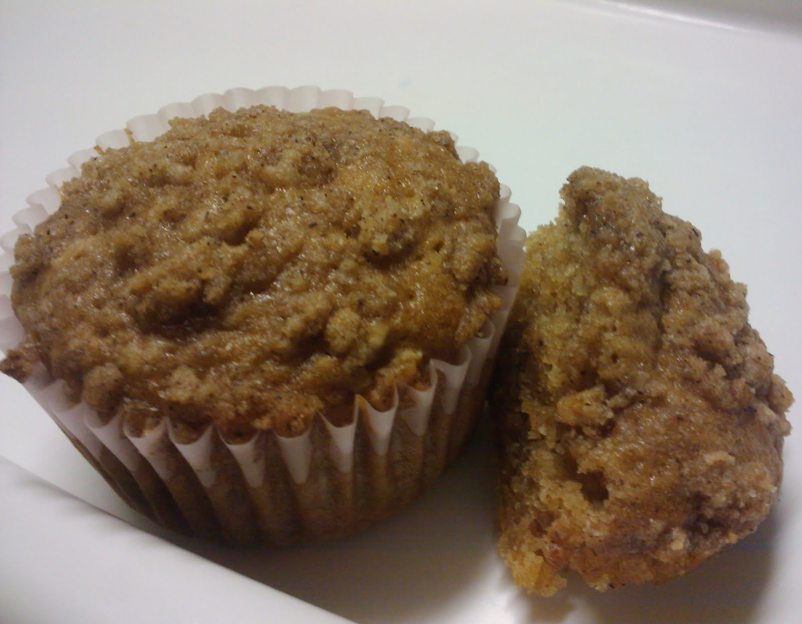 Baking Memoirs: Apple Strudel Muffins (egg free)