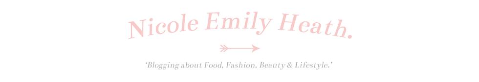 ➳ Nicole Emily Heath.