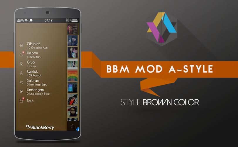 BBM A-STYLE Stylist Brown Color Ashockk.com