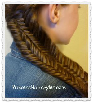 Fishtail Illusion Braid (Mermaid Braid)