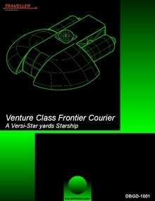 Cover of Venture Class Frontier Courier by DB Gamesdesign