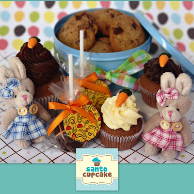 Páscoa 2013: Santo Cupcake