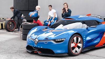 Renault Alpine Coming in 2015 as Porsche Boxster Rival