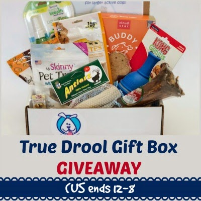 TRUE DROOL Gift Box for Large Dogs
