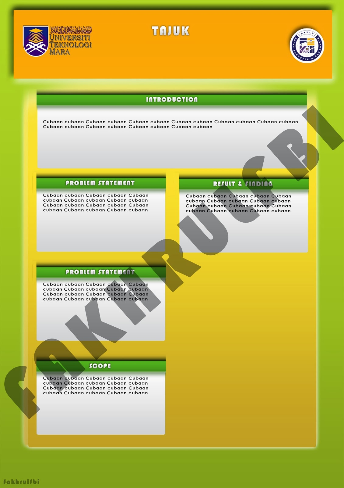 a1 powerpoint poster template choice image - templates example, Powerpoint templates