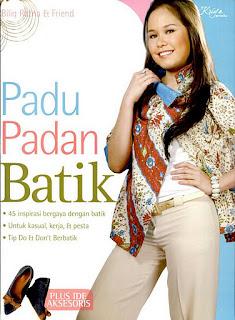 batik, memadukan, gaya,