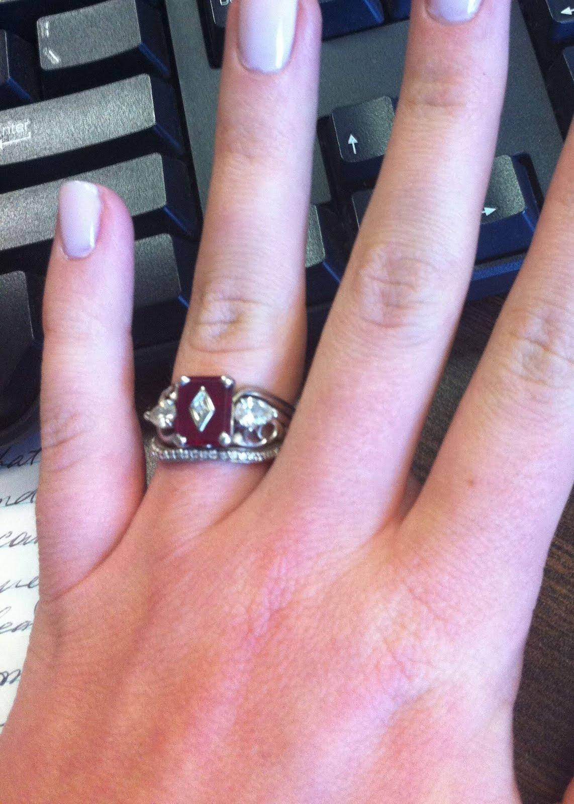 Kanyon and Erika My Wedding Ring