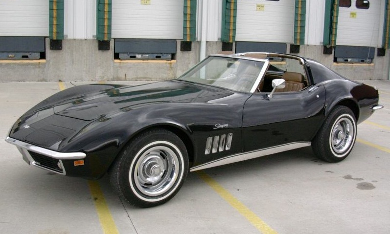 A Is Car Muscle Corvette The