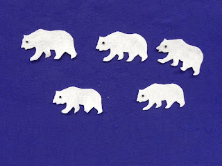 GRIZZLY Bear Die Cuts-AccuCut