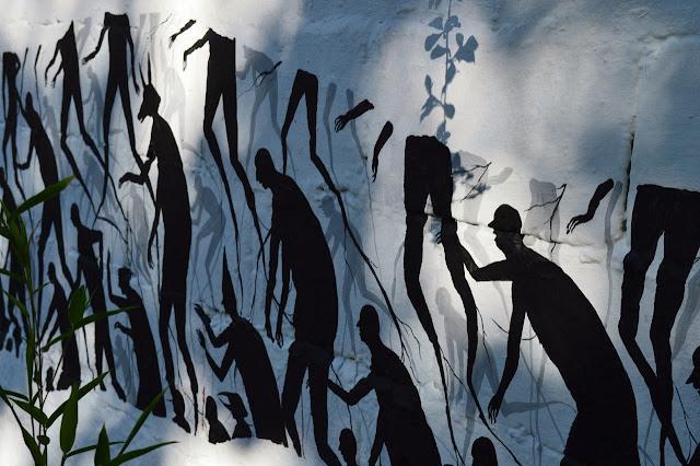 """""""Senda"""" New Street Art Piece By David De La Mano In Montevideo, Uruguay. 1"""