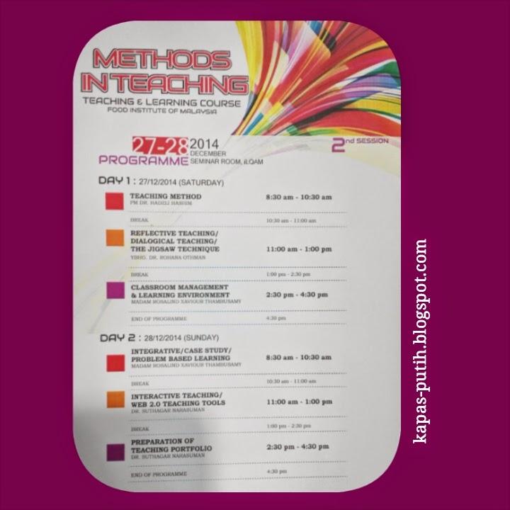 Methods in teaching seminar