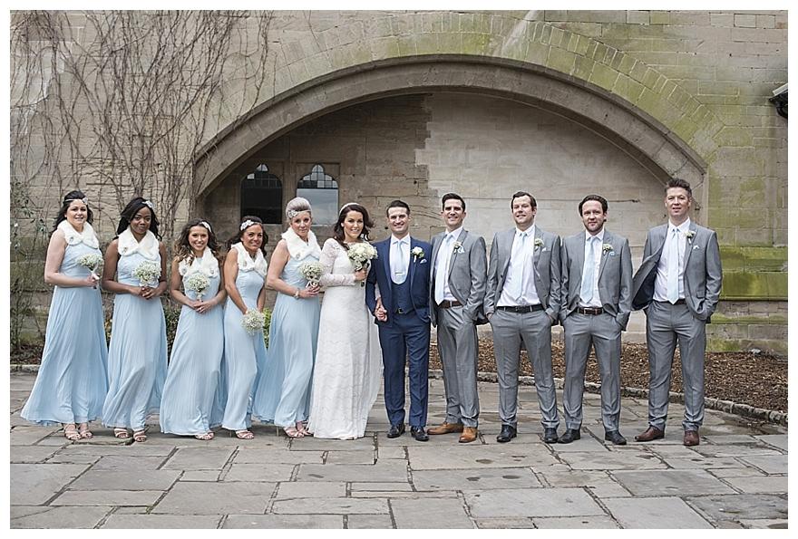 2016 Wedding Ideas A Pretty Pastel Blue Winter Wedding With A Tea