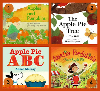 fall apple books toddlers