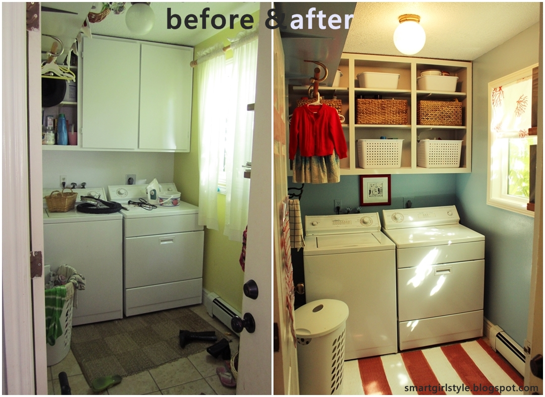 Smartgirlstyle Laundry Room Makeover Reveal
