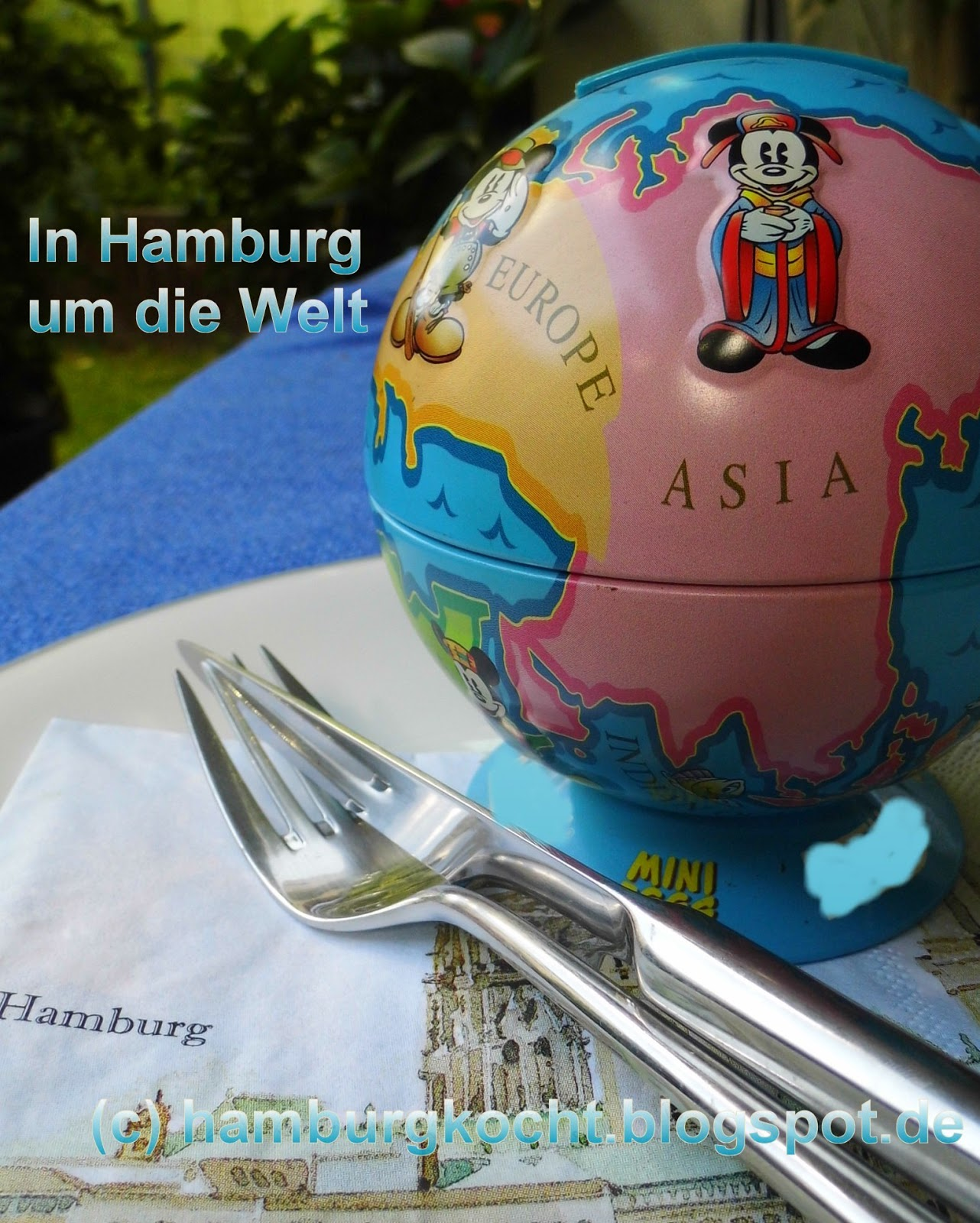 Blog-Event In Hamburg um die Welt