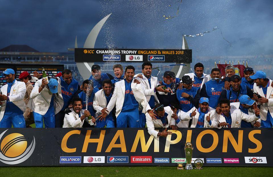 Virat Kohli Dancing After India Wins Champions Trophy 2013