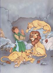 Daniel na cova do leões