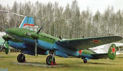 История создания бомбардировщика Пе-2 фото