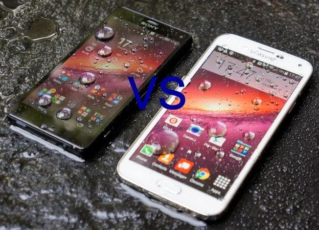 Sony Xperia Z3 Compact VS Samsung galaxy s5