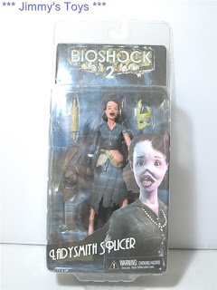 "HC43P NECA BIOSHOCK 2 LADYSMITH SPLICER 7"" ACTION FIGURE !!!"