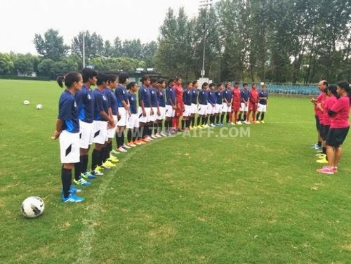 Indian squad SAFF Women's Championship 2014