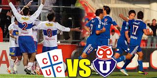 U. de Chile Vs U. Católica la Final del Fútbol Chileno