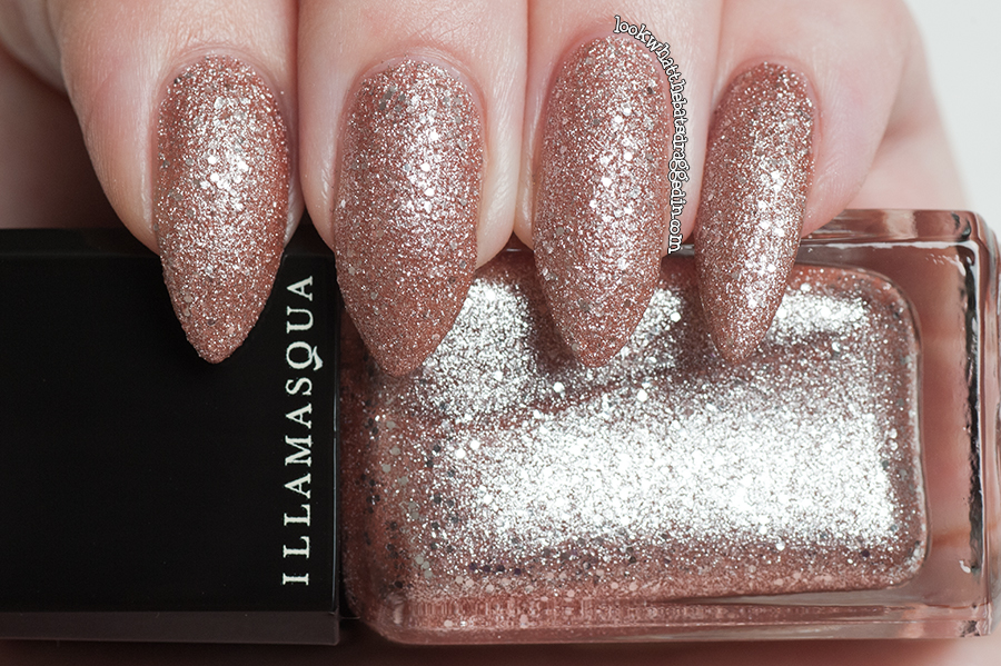 Illamasqua Shattered Star nail polish Glamore Collection Trillaint