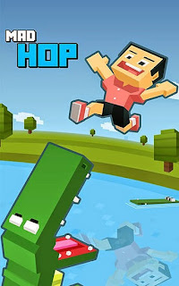 Screenshots of the Mad hop: Endless arcade game for Android tablet, phone.