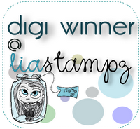 Wow I won Lia Stampz Challenge