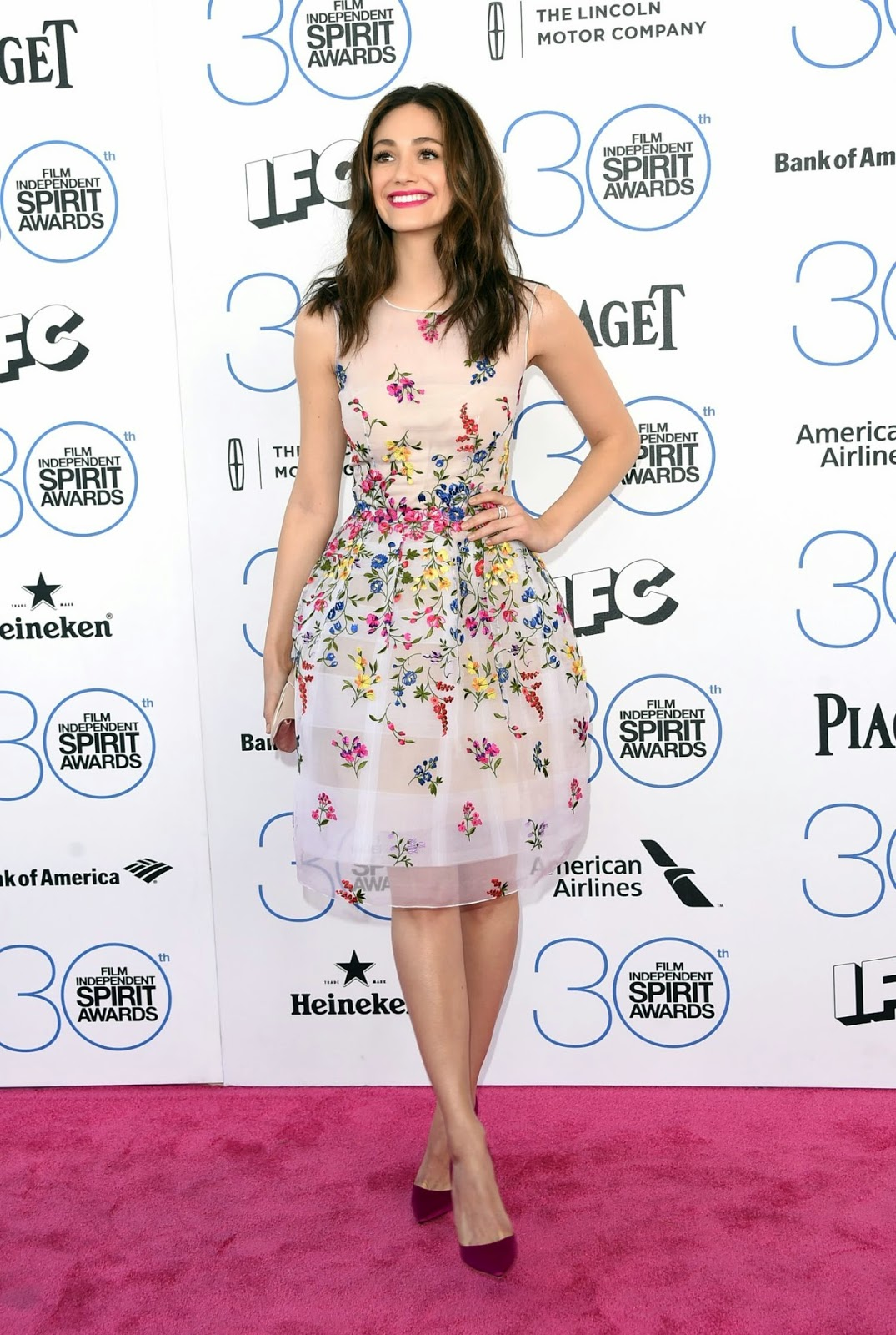 Emmy Rossum – 2015 Film Independent Spirit Awards in Santa Monica