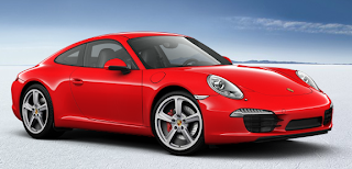 2012 Porsche 911 Carrera S red
