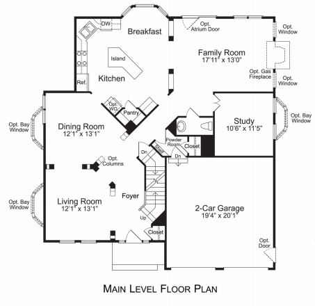 avendale by brookfield homes in bristow - Brookfield Homes Floor Plans
