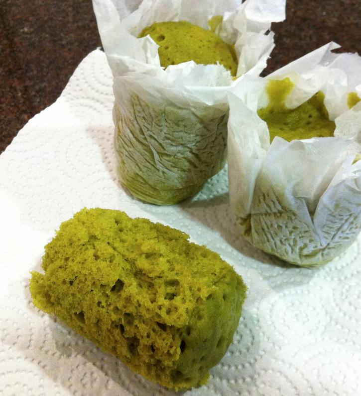 Microwave Sponge Cake In A Mug