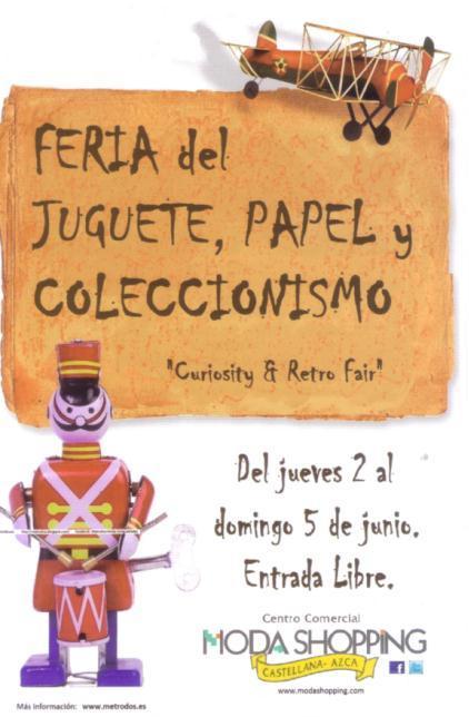 feria papel antiguo coleccionismo: