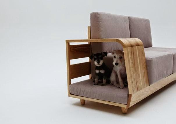 15 ideas de muebles muy creativas para tus mascotas - Muebles para mascotas ...