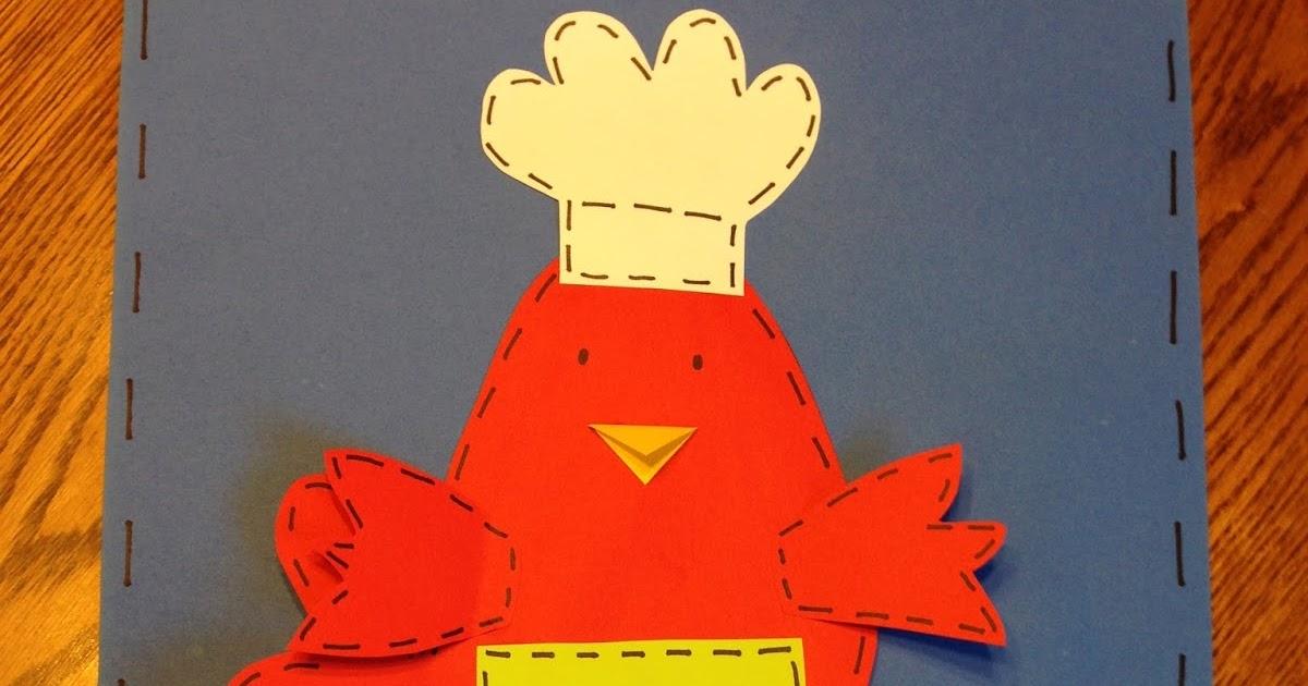 first grade sugar  little red hen craftivity and writing