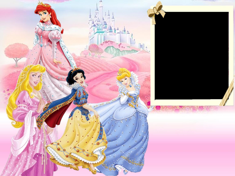 Molduras Para Você: Molduras Princesas