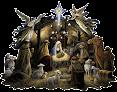 Presépios de Natal em Png e Gifs
