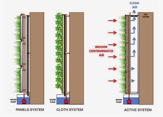 La paisajista curiosa tipos de jardines verticales for Riego jardin vertical