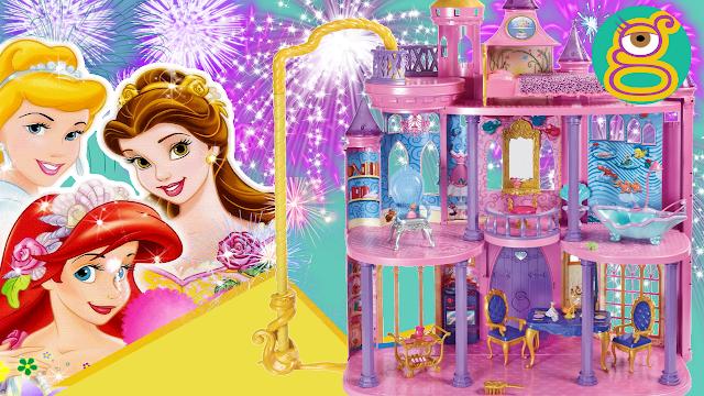 Castillo Dream de los Sueños de las Princesas Disney - Disney Princess Ultimate dream castle rewiew en español