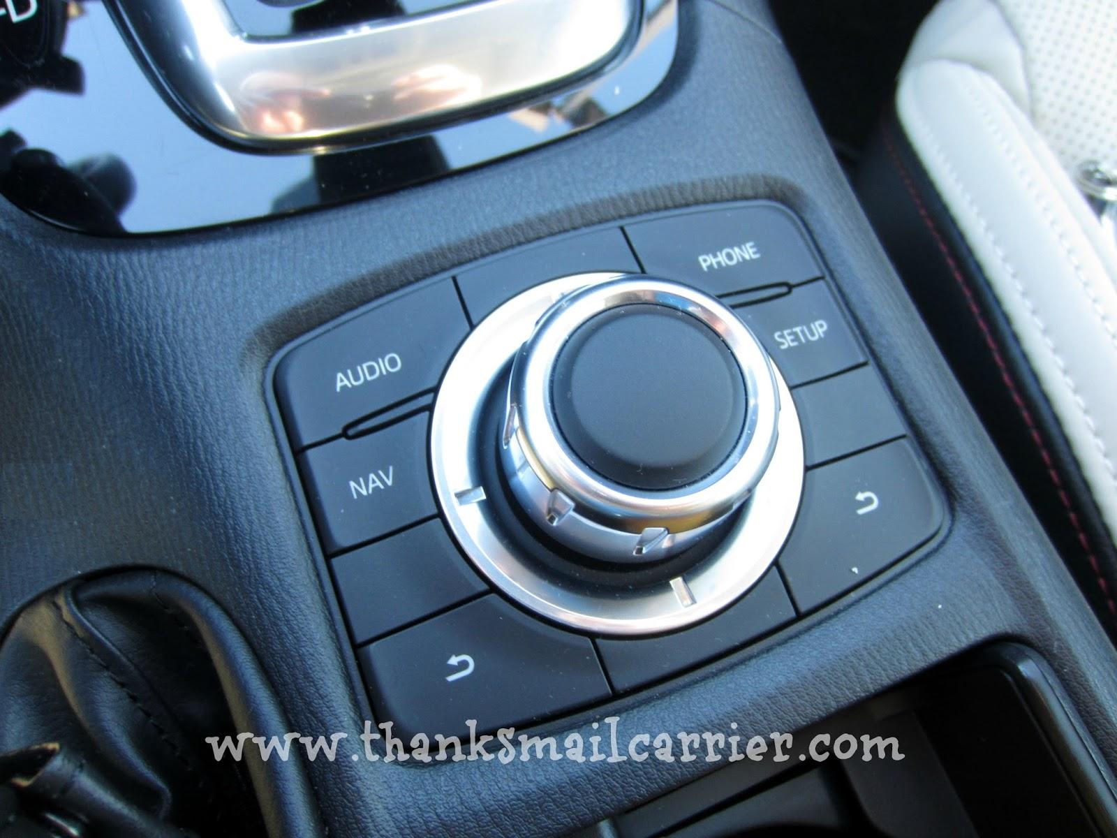 Mazda6 controls
