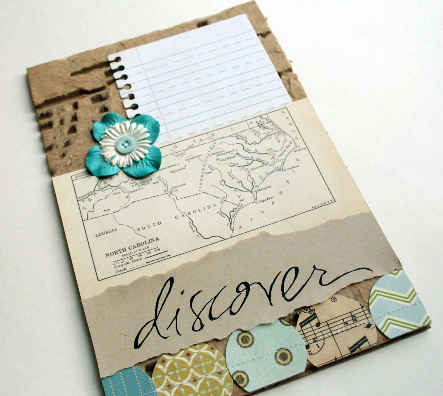 the creative place diy tuesday travel journal