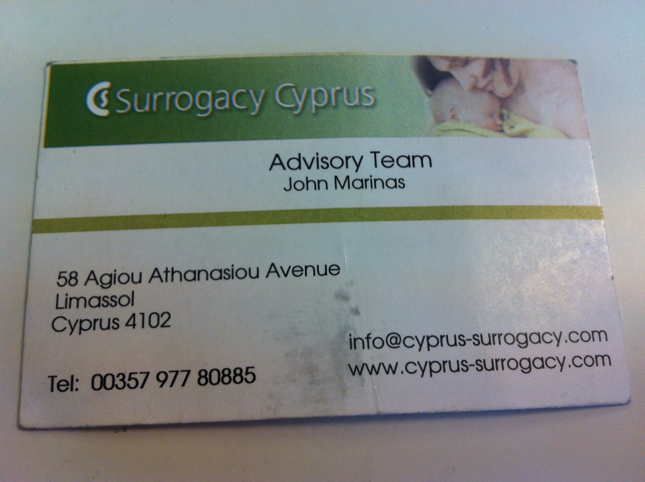 Cyprus surrogacy both associated with cyprus surrogacy the first man introduced himself as john marinas and gave me this business card the other man introduced himself as reheart Image collections