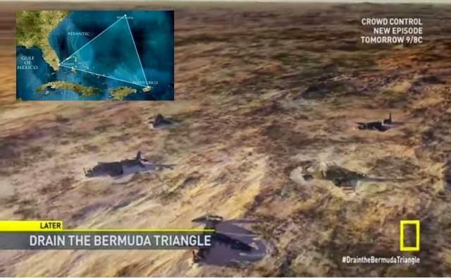 Gambar Gambar Keadaan Segitiga Bermuda Setelah Kering