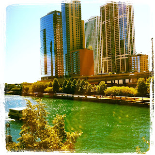 Chicago River: Taken from the window of the conference hotel