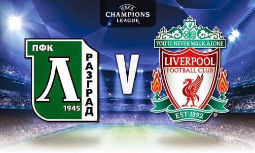 Poker Indonesia : Prediksi Skor Ludogorets vs Liverpool 27 November 2014