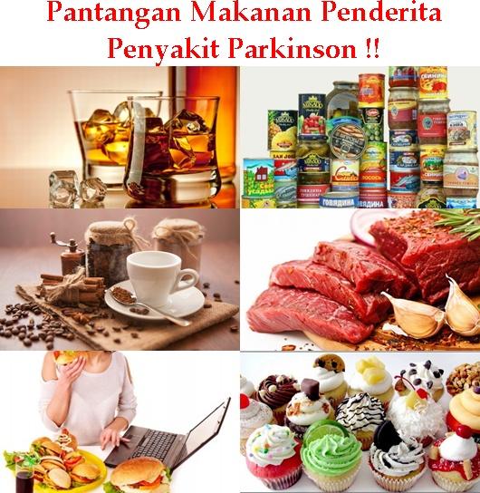 Pantangan Makanan Penderita Penyakit Parkinson