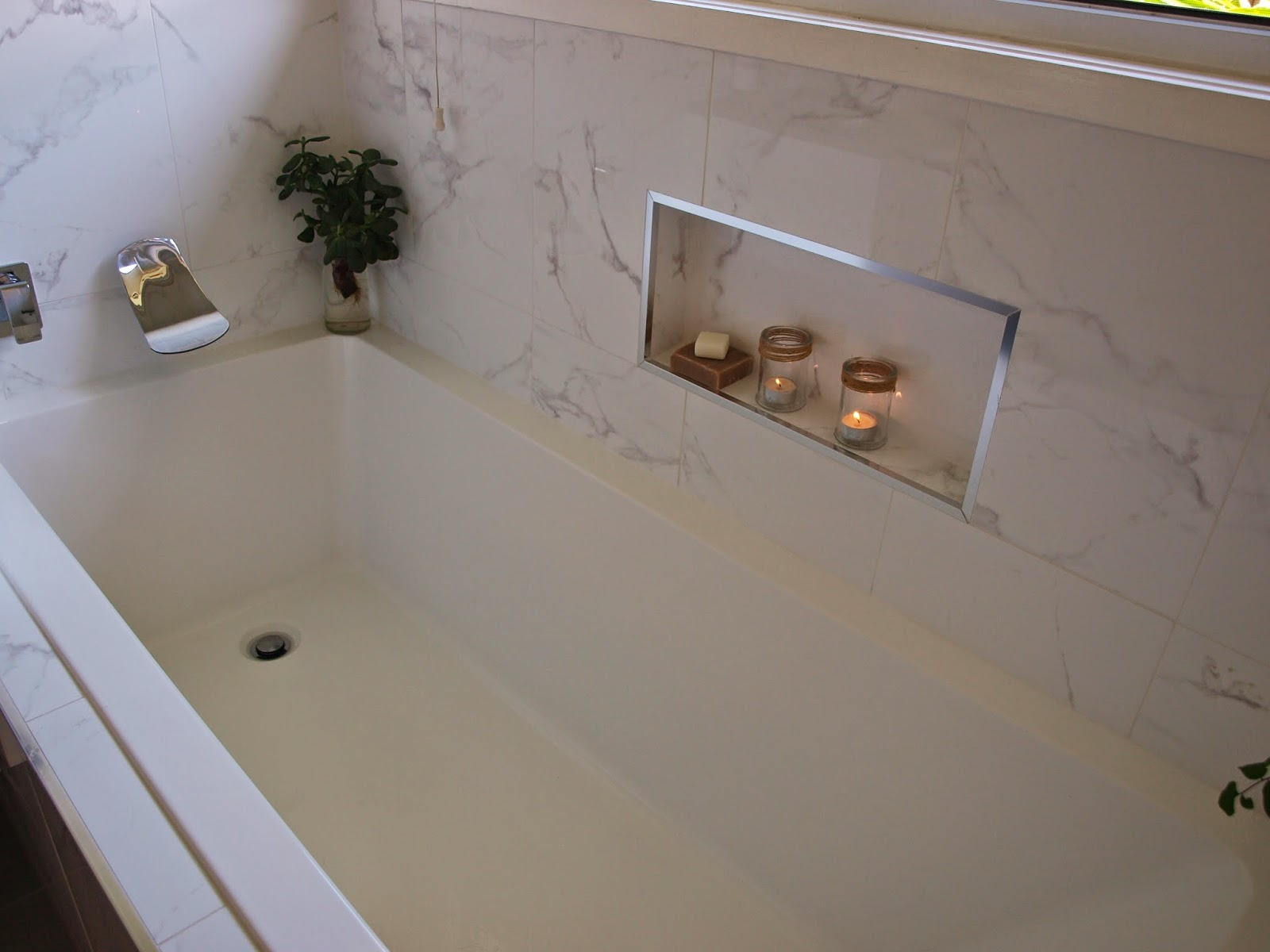 The room reveal you have been waiting for my bathroom for Where can i buy a bathtub